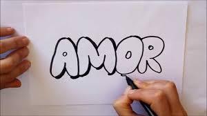 imagenes bonitas de te amo para dibujar cómo dibujar amor letras dibuja conmigo dibujos de amor youtube