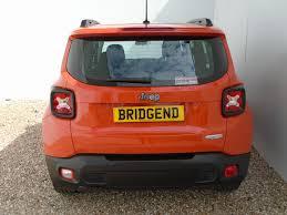 jeep renegade orange jeep renegade used cars in scotland bridgend group