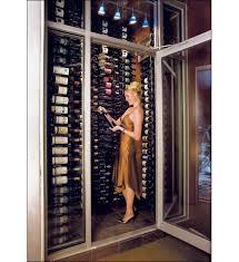 vintage view mag1 chrome 9 magnum champagne bottle wine rack