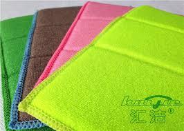 reusable microfiber dishcloths green kitchen dish towel 17 x 23cm