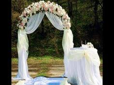 wedding arches decorations pictures simply in wedding wedding flower and fabrics