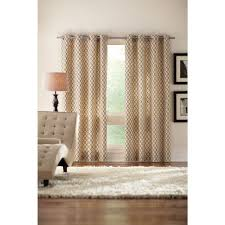 Martha Stewart Curtains Home Depot Martha Stewart Living Cream Outdoor Back Tab Curtain 1624454 The