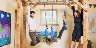 house keeping this family traded mattresses for monkey bars katy bowman