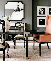 Black And White Dining Room Chairs 156 Best Glam Dining Room Images On Pinterest Chairs Dining