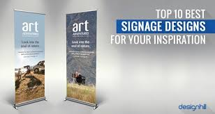 Top 10 Design Blogs Top 10 Best Signage Designs For Your Inspiration In 2017