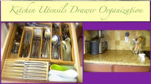 how to organize kitchen utensil drawer an organized home kitchen utensils drawer organization part 1 of 2 how to organize