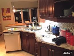 cuisine luxueuse métamorphose réno de cuisine sombre à cuisine luxueuse avant après