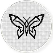 celtic butterfly cross stitch pattern daily cross stitch