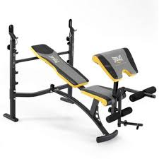 Weight Bench Leg Exercises Buy Everlast Intermediate Weight Bench With Lat Tower Preacher