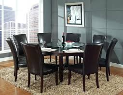 Square Kitchen Table With 8 Chairs Scenic 8 Chair Dining Table Set Room Breakfast Tables And 4