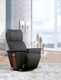 fauteuil relax confortable fauteuil relax en tissu manuel inclinable avec pouf repose