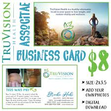 Email Business Card by Truvision Health Business Card V2 Digital Download Truvision