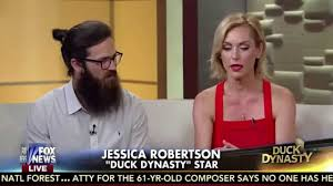 why did jesicarobertson cut her hair duck dynasty s jep jessica robertson interview on fox friends