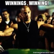 Fast And The Furious Meme - winnings winning dom fast and furious meme generator