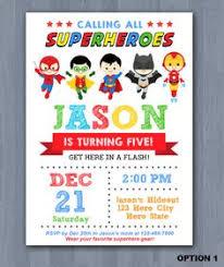 superhero birthday invitations free printable choice image