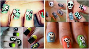 10 skull nail art tutorials for halloween pamper my