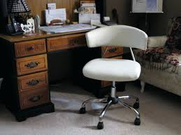 Leather Desk Chairs Wheels Design Ideas Desk Chairs White Wooden Desk Chair With Wheels Swivel Office