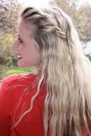 long hair lady twisted crown braid tutorial twist me pretty