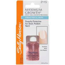 sally hansen maximum growth daily nail growth program 4 48