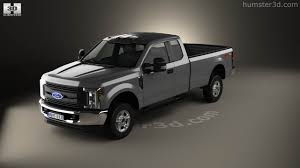 Ford F250 Truck Models - 360 view of ford f 250 super duty super cab xlt 2015 3d model