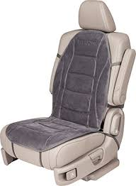 amazon com relaxzen 60 2802h04 deluxe heated car seat cushion