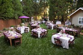 Backyard Wedding Centerpiece Ideas Beautiful Backyard Weddings Backyard Wedding Photos Great