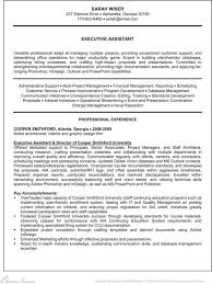 Executive Administrative Assistant Resume Sample by Executive Administrative Assistant Resume Download Free