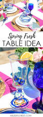 Spring Table Settings Spring Table Setting Tips And Ideas For A Fresh Spring Look