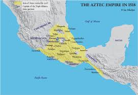 mayan empire map map of the aztec empire in 1519 ce pearltrees