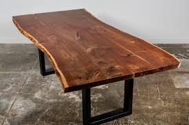 live edge walnut coffee table city trees furniture live edge walnut dining table 95