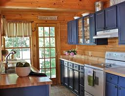 decorating with a country cottage theme cabin kitchens black