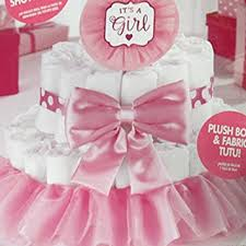 tutu baby shower cakes baby shower baby girl deluxe cake kit 4pc
