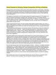 health essay sample essay example on bullying bullying school shooting