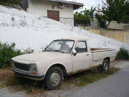 peugeot 504 pickup peugeot 504 pick up spili 1 photo de 069 vacances en crète
