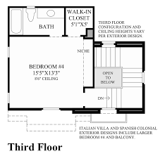 Floor Plans In Spanish by Cordova At Gale Ranch The Cortinada Elite Home Design