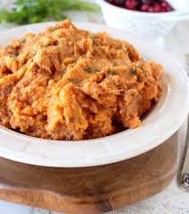 sweet potato thanksgiving side dish mashed sweet potatoes recipe whitneybond com