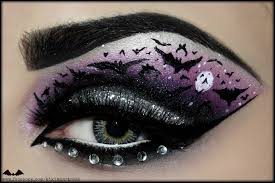 eye makeup for halloween stapled eye halloween makeup tutorial