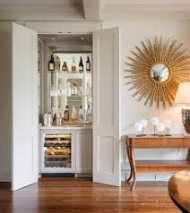 shaped wet bar pictures dining room transitional with dark floors