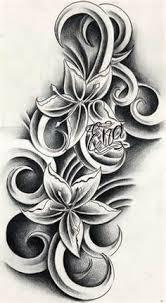 Polynesian Flower Tattoo - flower tattoo images u0026 designs
