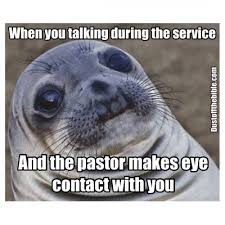 Eye Contact Meme - awkward eye contact in church dank christian memes