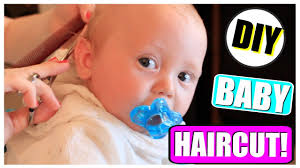 diy baby haircut how to baby u0027s hairstyle first haircut tutorial