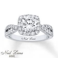 neil engagement neil engagement ring 2 1 5 ct tw diamonds 14k white gold