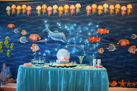 sweet baby boy shower cake decor under the sea party 1 baby