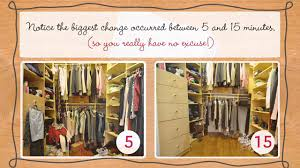 cleaning closet closet organization tips for cleaning up yours in 5 minutes youtube