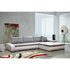 divan canapé canapé rivoli blanc gris sofa divan achat vente canapé sofa