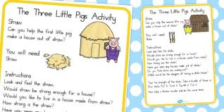 pigs materials activity cards australia