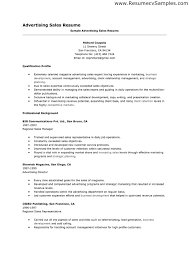 resume examples advertising resume ixiplay free resume samples