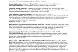 Respiratory Therapist Sample Resume by Respiratory Therapist Resume Sample Resume Samples Resume Samples