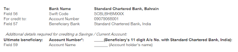 banking do we need to provide correspondent bank information for