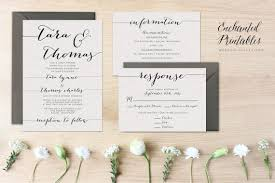 Blank Wedding Invitation Kits Extraordinary Printable Wedding Invitation Sets 76 For Your